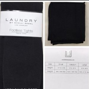 Laundry By Shelli Segal Pants - Laundry footless fleece lined tights 2 PAIR PACK